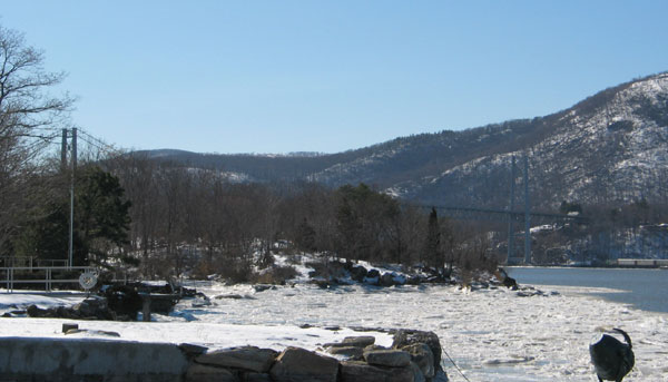 River and Bear Mountain Bridge